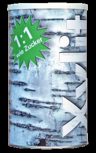 10kg Xylit Birkenzucker | Dose 1kg + Nachfüllbeutel 9kg