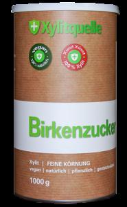 Finnland Birkenzucker (Xylit), 1kg Dose, mittlere Körnung