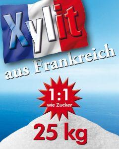 Xylit Birkenzucker aus Frankreich 25kg Sack mittlere Körnung