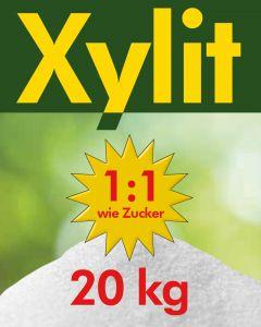 Xylit Birkenzucker 20kg feine Körnung