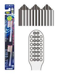 Ersatzbürsten zur KISS YOU Ionen Zahnbürste mit GEZACKTEM Bürstenkopf