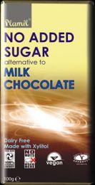 Xylit Milch-Schokolade ohne Zucker & Milch, Tafel, 100g
