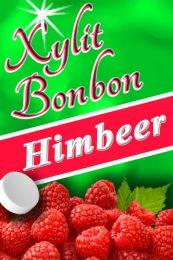Xylit Bonbons Himbeere kaufen, 100% zuckerfrei, 70g (ca. 35 Stk)