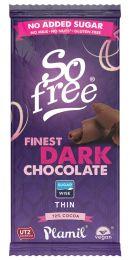 Xylit Schokolade zartbitter, 72% Kakao, Tafel, 80g