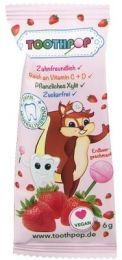 Xylit Lolli Toothpop Erdbeer - Lutscher mit Vitaminen C & D