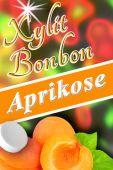 Xylit Bonbons Aprikose kaufen, 100% zuckerfrei, 70g (ca. 35 Stk)